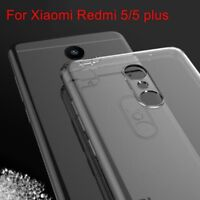 For Xiaomi Redmi 5/5 Plus Luxury Case Clear thin Soft Silicone TPU Back Cover