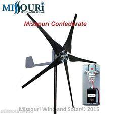 DC output Wind turbine Package Missouri Confederate 700 watt 5 blade 12 volt
