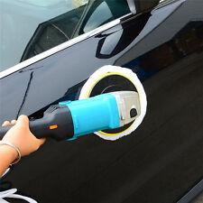 "7""Variable 6-Speed Electric Auto CAR Polisher/Buffer & Sander w/ Wool Bonnet Pad"
