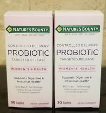 2 x Nature's Bounty Probiotic Supports Digestive & Intestinal Health