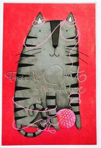 """From the Cat You Adore"" HALLMARK VALENTINE'S DAY CARD"