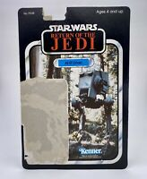 Vintage Star Wars Return Of The Jedi AT-ST Driver Cardback 1983 Kenner