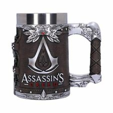 More details for new assassins creed tankard brotherhood official licensed collectable boxed 15cm