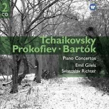 Sviatoslav Richter/Emil Gilels - Tchaikovsky: Piano Concertos (NEW 2CD)