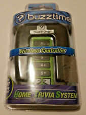 BUZZTIME WIRELESS CONTROLLER Green Home Trivia System Entertainment NIB Sealed