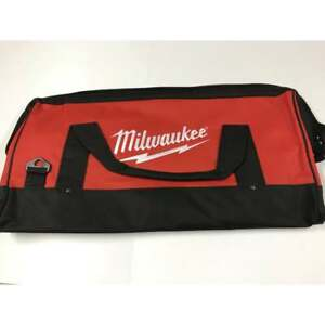"Milwaukee M18 Toolbag Canvas Contractors Tool Bag 24"" Long x 12"" Deep 4931411254"