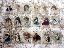 Complete Final Fantasy Art Museum Coca Cola Edition 18 Card FF VII VIII