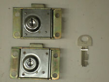 2 RARE Western Electric MADE Payphone Vault & Housing Locks Pay Phone Telephone