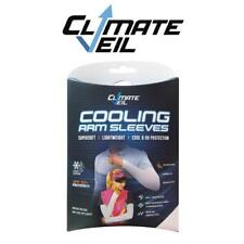Climate Veil Cooling Upf50 Arm Sleeves - Grey Mountain Bike