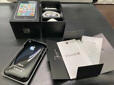 Apple iPhone 3GS - 8GB-Negro A1303 (GSM) con caja que empareja números prístina
