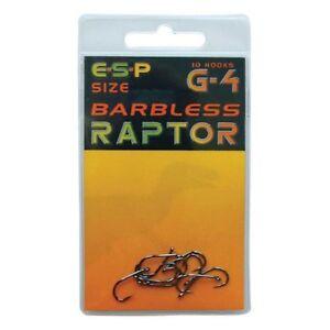 ESP Raptor G-4 Barbless Clearance Packs