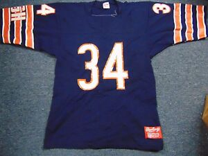 VINTAGE 80'S UNWORN RAWLINGS NFL CHICAGO BEARS WALTER PAYTON JERSEY SIZE M