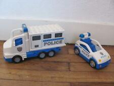LEGO DUPLO @@ Lot de Véhicules de Police @@ Police Car Truck @@ TBE