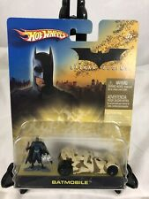 Hot Wheels Batman Begins camo tumbler Batmobile w/Batman Figure