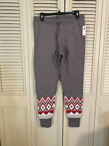 Old Navy Womens Warm Pajama Pants Size Large HOLIDAY WINTER NWT!