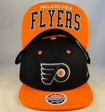 f94daf5c69a Philadelphia Flyers NHL Zephyr Snapback Cap Hat Undercard Black Orange