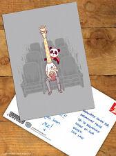 Brainbox Candy 'Cute Giraffe' Postcard Funny Comedy Humour Novelty Cheeky Panda