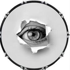 "Custom 22"" Kick Bass Drum Head Graphical Image Front Skin Eye Emerge 2"