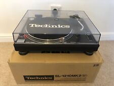 Technics SL-1210 Mk2 DJ Hifi Turntable Deck Vinyl SL-1200 - 3 Year Warranty