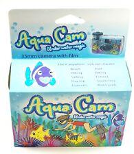 1 Aqua Cam Underwater Magic Disposable 35mm Film Camera 400 Iso 36 Exp Date 1-19