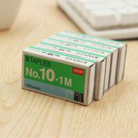 1000pc SIZE NO.10 Staples Box für Desktop-Hefter Normale Staples Metallband R4J8
