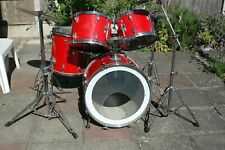 More details for vintage 1970s tama swingstar drum kit with rare hoshino snare drum