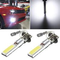 White 6000K 12V Bright Xenon Car Auto H3 COB LED Fog Light Lamp Bulb Hot