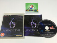 Resident Evil 6 (Sony PlayStation 3, 2012) PS3 Game