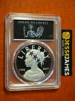 2017 P AMERICAN LIBERTY PROOF SILVER MEDAL PCGS PR70 FIRST DAY ISSUE WASHINGTON