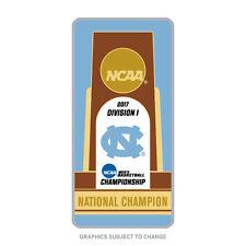 2017 NCAA Champion North Carolina Tar Heels Trophy Lapel Pin