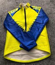 Vintage Cycling Jersey Size 3 Alexa Yellow Ultratherm - Adults Size Medium M