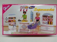 "Gloria Doll House Furniture/(9928) Supermarket for 11.5"" Barbie size"