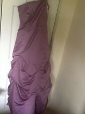 David's Bridal dress, style number 81123, size 4, color wister