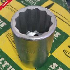 "1/2"" drive  7/16 whitworth socket 12 point / bi-hex"