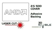WHITE - AMD - 2.5inch SSD/HDD SATA Solid Hard Drive Cover Plate 2.5 Internal