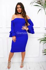 Spring Regular Dresses for Women with Ruffle