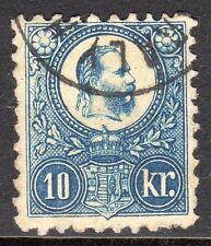 Hungary - 1871 Definitive Franz Josef - Mi. 11a VFU (4)