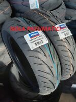 Coppia Pneumatici 110/90-12 64P e 130/70-12 64P MITAS TOURING FORCE