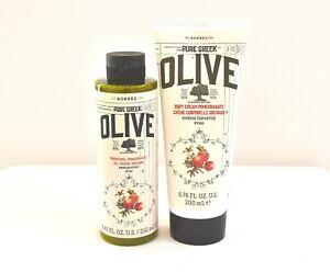 Korres Pure Greek Olive Pomegranate Showergel 250 ml + Body Cream 200 ml
