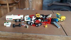 Lego System Road Sweeper 6649 Octan Tanker 6594 Job Lot Spares