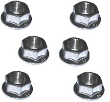 Rear Sprocket Nuts (x6) - A2 Stainless -  Yamaha RD250LC