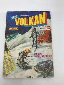 CAPTAIN VOLKAN #40 #41 - Turkish Comic Book - 1980s - Very Rare