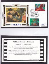 GB 1995 Greetings Stamps Benham silk Series The Kiss (10) Unadressed FDC