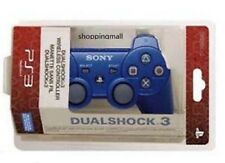 Blue New SixAxis DualShock 3 Wireless Controller For PS3 Plus USB Line Charger