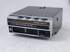 Vintage Channel Master Cartruck 8 Track Fm Radio Automotive Stereo 6204