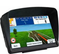 "7"" Inch Car GPS Navigation SAT NAV 8GB Bluetooth Navigator with Sunshade US"