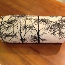 Laura Ashley Silver Birch Charcoal Complete  Bolster Cushion. Stunning!!!
