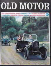 Old Motor magazine November 1966 featuring Delage