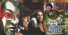 "Doctor Who ""The Robots of Death"" Collectable Stamp Cover - Signed LOUISE JAMESON"