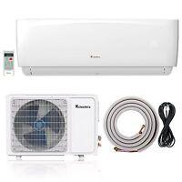 Klimaire 24000 Btu 15.5 SEER AC Ductless Mini Split Inverter Heat Pump 208-230V